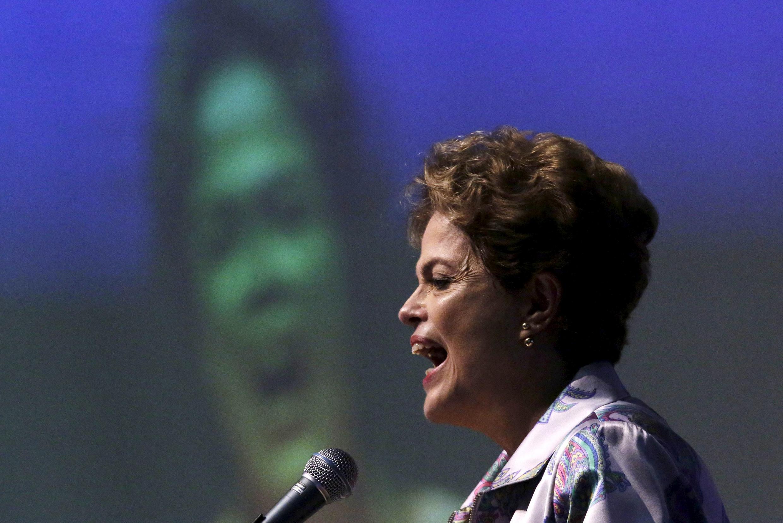 La présidente brésilienne Dilma Rousseff, le 4 novembre 2015 à Brasilia.