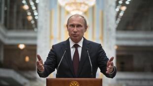 俄国总统普京。