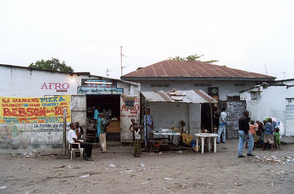 Scène de rue à Kinshasa (image d'illustration).