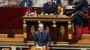 Gilles Le Gendre a annoncé son départ en septembre de la tête des députés LaREM. Ici, à l'Assemblée nationale, le 3 mars 2020, à Paris.