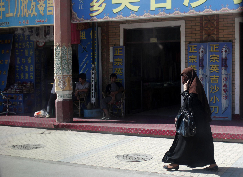 Shigar mata musulmai na kabilar Ouïghours a kasar China