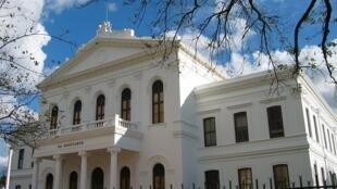 The Ou Hoofgebou (old main building) on Stellenbosch University campus
