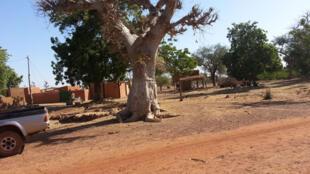 Paysages du village de Guitti, dans le département de Séguénéga, au Burkina Faso.