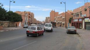 Laayoune au Sahara occidental.