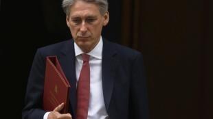 Philip Hammond  وزیر امور خارجه بریتانیا