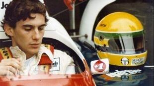 Cena do documentário britânico Senna, sobre a história do piloto brasileiro Ayrton Senna