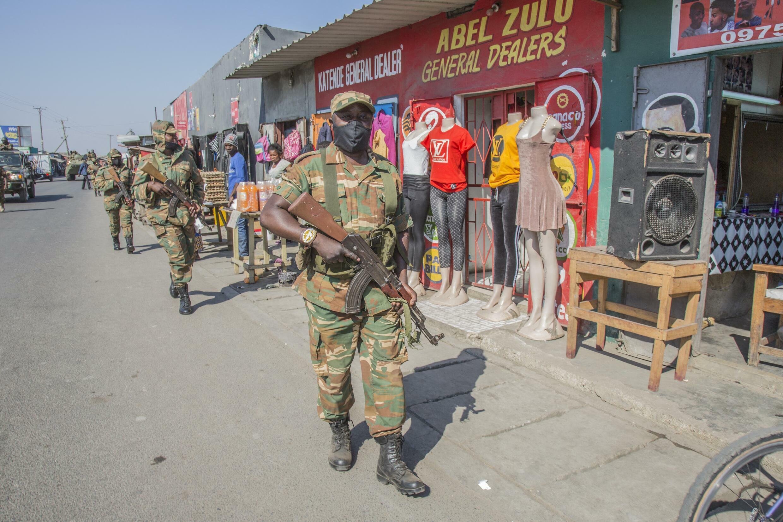 armée - élections - zambie