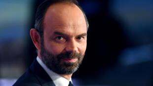 O novo primeiro-ministro francês, Edouard Philippe.