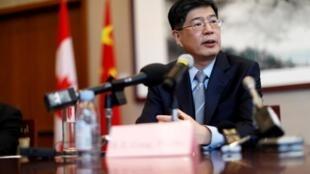 中國駐加拿大大使叢培武資料圖片