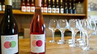 Flint Vineyard produit du vin depuis 2016 grâce aux fruits d'autres viticulteurs de la région, avant les premières vendanges, cet automne.