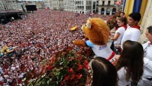 Las fiestas de Bayona son el quinto evento más concurrido del mundo, según la Oficina de Turismo de la ciudad.
