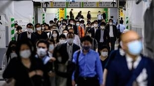 There were fears packed Tokyo could become a hotbed for the virus