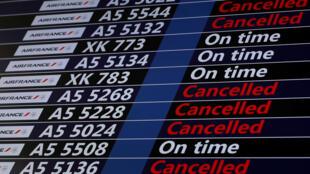 Забастовка Air France приведет к отмене 25% рейсов в пятницу, 4 мая 2018г