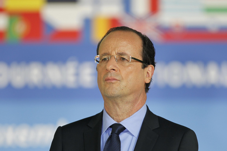 Rais mteule wa Ufaransa Francois Hollande