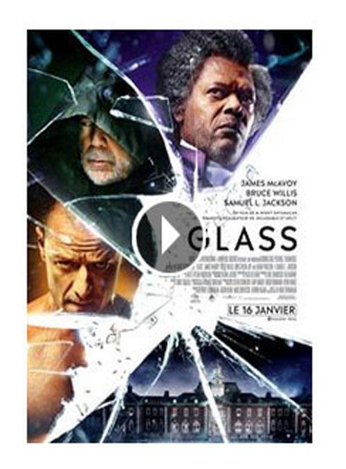Affiche de «Glass», le nouveau film de M. Night Shyamalan (capture d'écran).