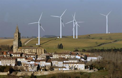 Un parc éolien en France (photo d'illustration).