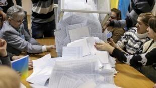Os partidos pró-ocidentais venceram às eleições legislativas deste domingo na Ucrânia.