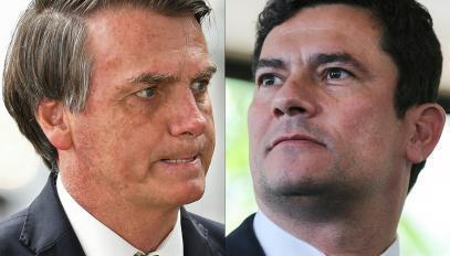 Le président brésilien Jair Bolsonaro est accusé d'ingérence dans les affaires judiciaires par son ancien ministre de la Justice Sergio Moro.