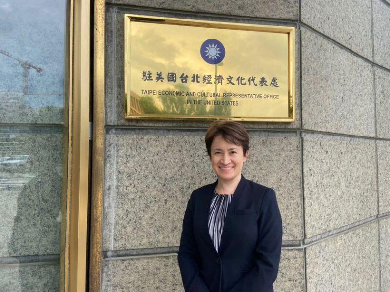 台灣駐美代表蕭美琴資料圖片