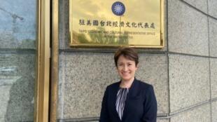 台湾驻美代表萧美琴资料图片