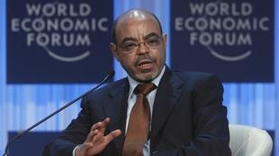 Meles Zenawi, primeiro-ministro da Etiópia, morreu nessa segunda-feira de causa não revelada.