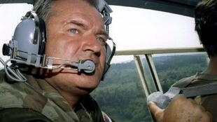 Ratko Mladic, enzi zake akiwa bado jeshini tarehe 29 Julai 1995.