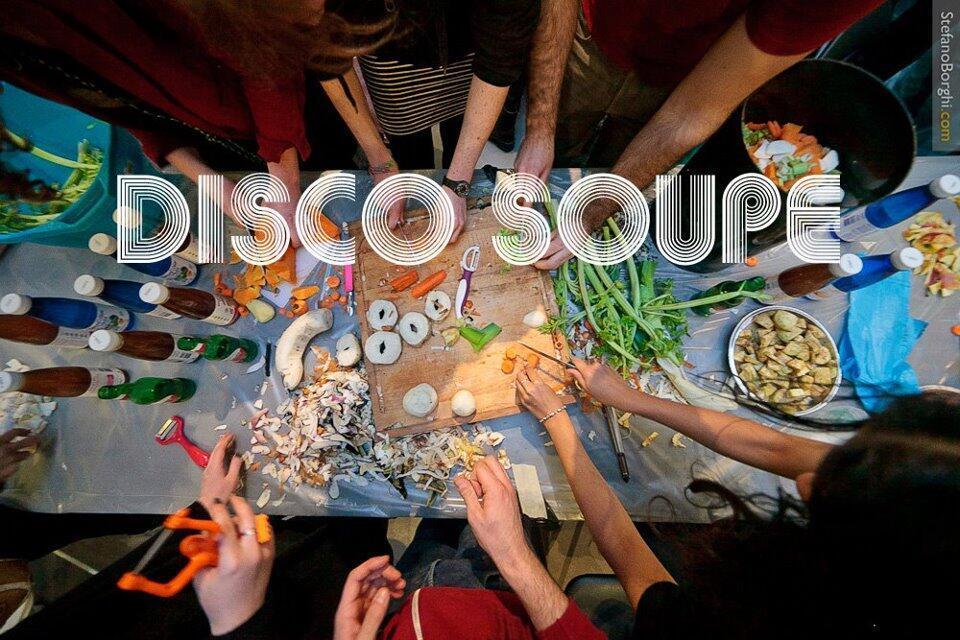 Foto da página da associação Disco Soupe