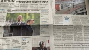Desconfinamento feito lugar à equação económica em França