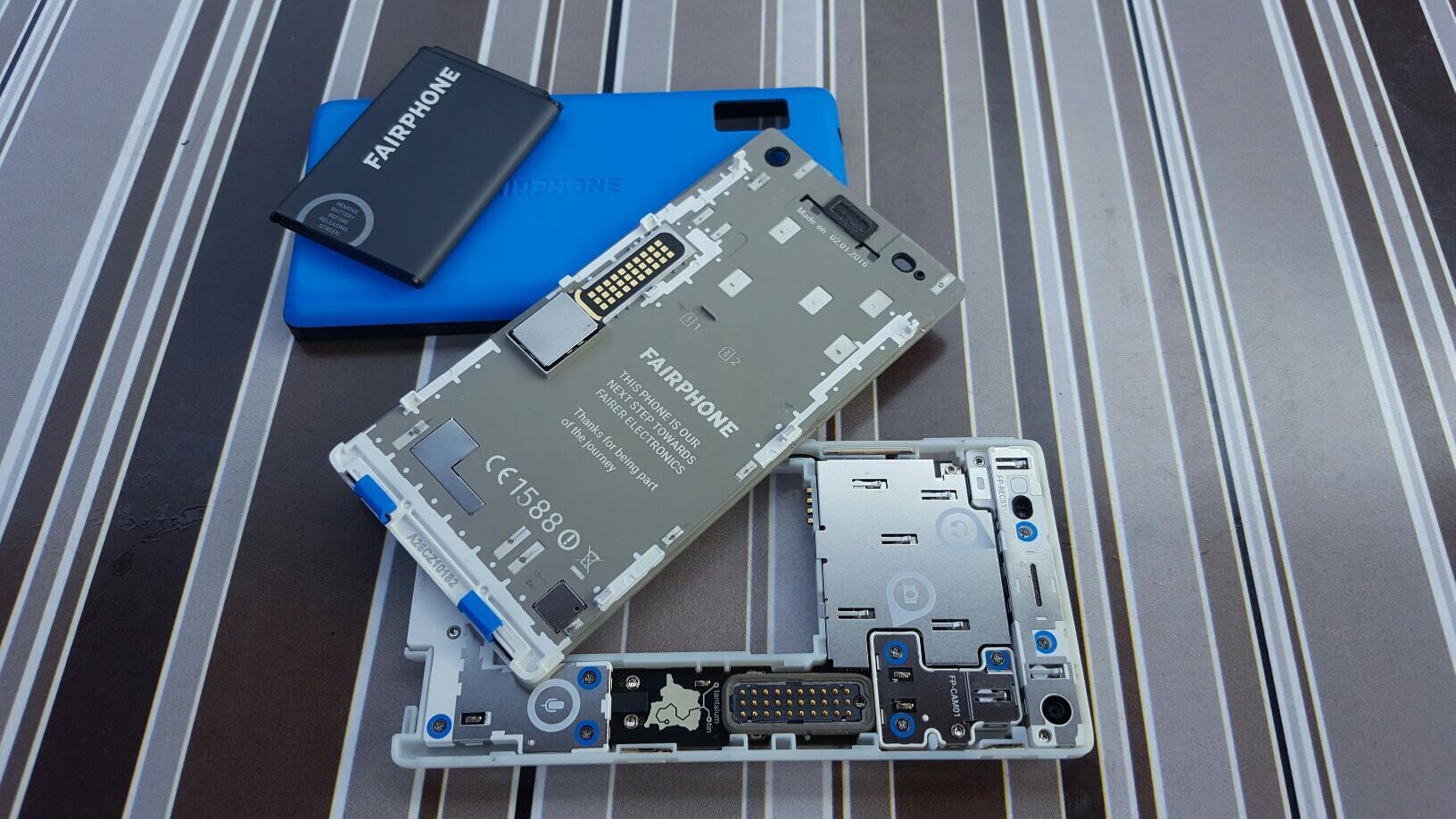 O Fairphone 2 é o primeiro telefone modular a chegar ao mercado.