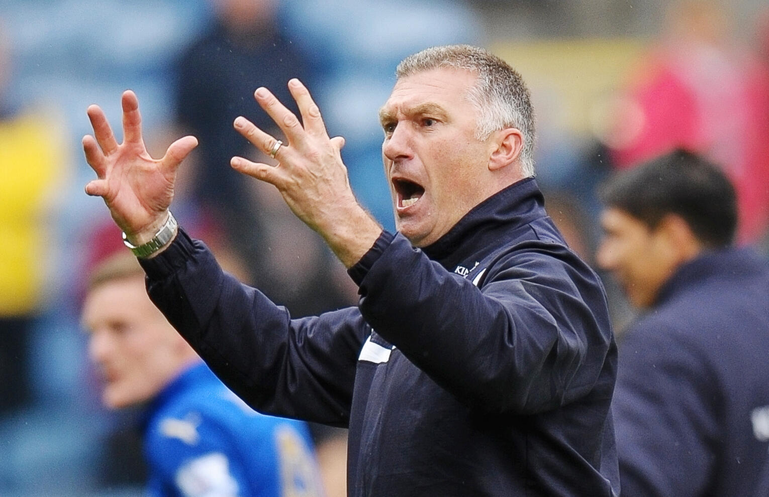 Leicester City coach Nigel Pearson has led his team to five wins in six Premier League matches