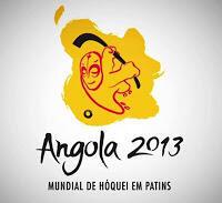 Logo du Mondial 2013 de hockey sur patins en Angola.