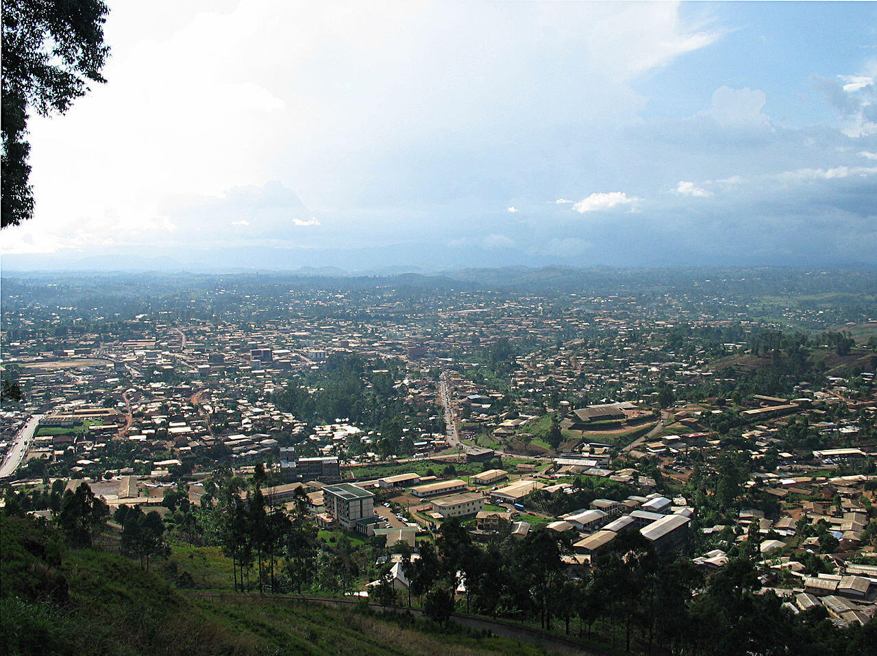 Bamenda in northwestern Cameroon