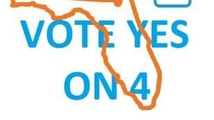 Propaganda a favor de la enmienda número 4.