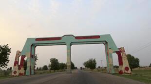 Shiga garin Maiduguri