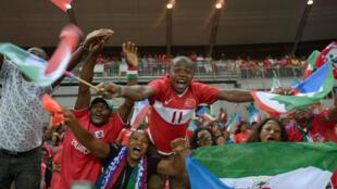 Mashabiki wa timu ya taifa ya Equatorial Guinea