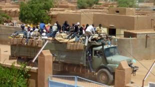 Ana safarar 'yan ci rani daga yankin Agadez na Nijar zuwa Libya zuwa Turai