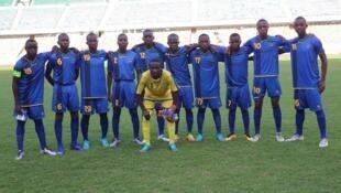 Kikosi cha Serengeti Boys kilichecheza mechi za kuwania kufuzu fainali za Afrika Jijini Dar es salaam