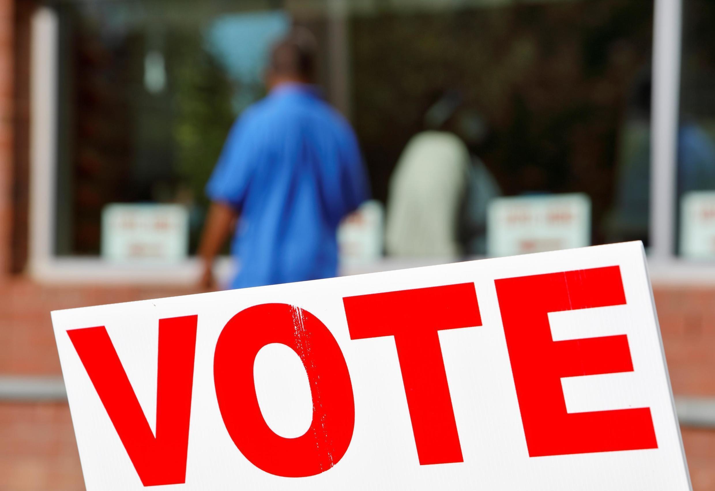 Un bureau de vote à Durham, en Caroline du Nord, le 3 novembre 2020.