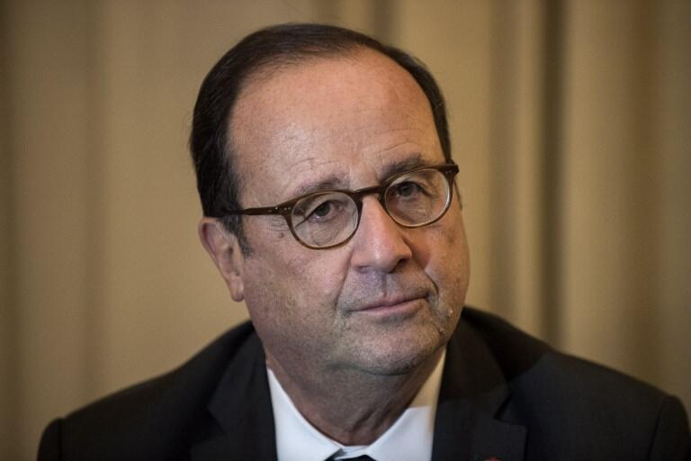 Бывший президент Франции Франсуа Олланд