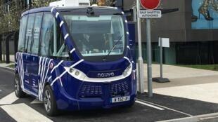 Les véhicules de la société Navya sont présents dans 14 pays. Mais c'est la première fois que l'un d'eux roule dans un aéroport.