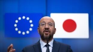 欧洲理事会主席米歇尔资料图片