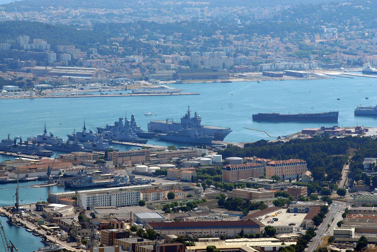 TheToulon naval base