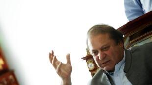 Le nouveau Premier ministre pakistanais Nawaz Sharif, le 13 mai 2013, à Lahore.