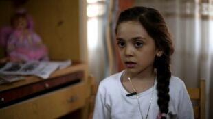 A tuítera Bana al-Abed, de 7 anos.