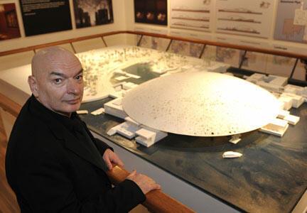 Kiến trúc sư Jean Nouvel và dự án Louvre tại Abu Dhabi (Reuters)