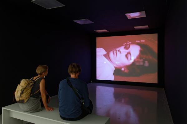 "Ange Leccia, Video ""Audrey"", 2009, Collection Frac Franche-Comté."