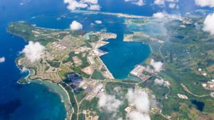 Ảnh minh họa : Căn cứ Không quân Mỹ trên đảo Guam. Ảnh năm 2006.