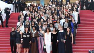 戛納電影節:82名女性電影從業者為性別平等發聲