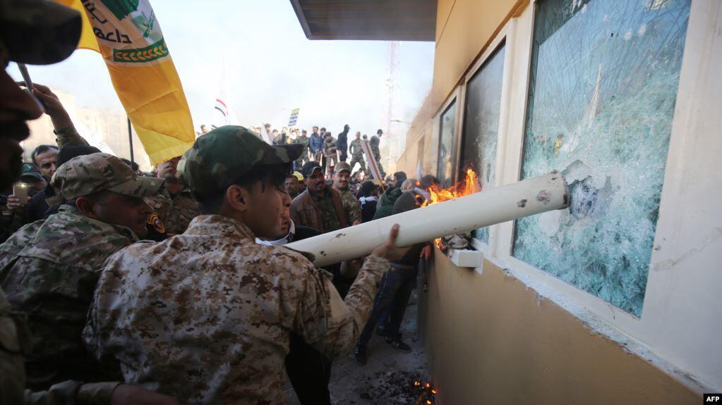 دولت فرانسه در واکنش به حمله گروه حشدالشعبی به سفارت آمریکا در بغداد، این حمله را به شدت محکوم کرد.