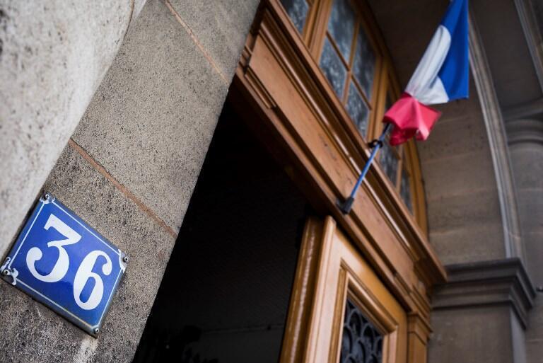 The police headquarters at '36 Quai des Orfevres' in Paris